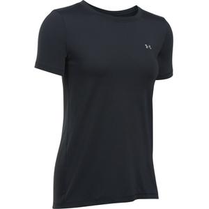 Under Armour Women's HeatGear Armour Short Sleeve T-Shirt - Black