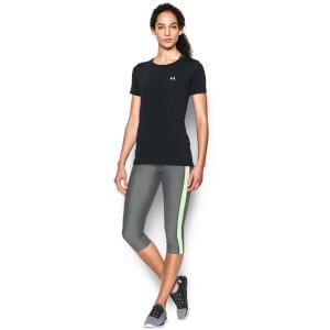 Under Armour Women's HeatGear T-Shirt - Black