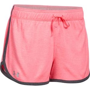 Under Armour Women's Tech Twist Shorts - Brilliance Pink