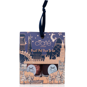 Ciaté London Paint Pot Duo to Go Nail Varnish - Lucky Penny/Raincheck 2 x 5ml