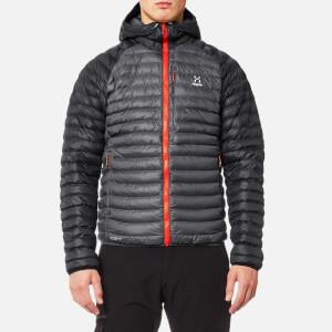 Haglöfs Men's Essens Mimic Hooded Jacket - Magnetite/True Black - XXL