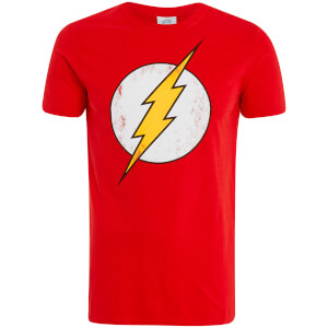 T-Shirt DC Comics Flash - Rouge