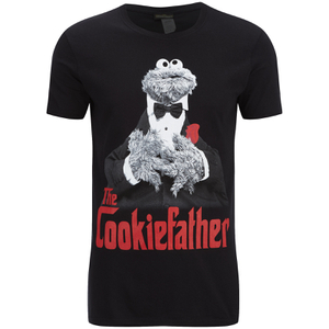 Cookie Monster Men's Cookiefather T-Shirt - Black