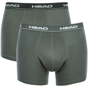 Head Men's 2-Pack Boxers - Black/Grey