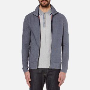 BOSS Orange Men's Zycle Zipped Sweatshirt - Dark Blue