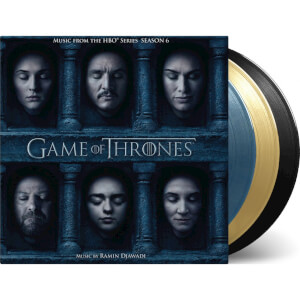 Game of Thrones: Season 6 - The Original Soundtrack (Ramin Djawadi) (3LP) - Coloured Vinyl