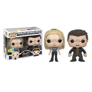 Buffy Vampire Buffy & Vampire Angel Funko Pop! Vinyls SDCC 2016 Exclusive