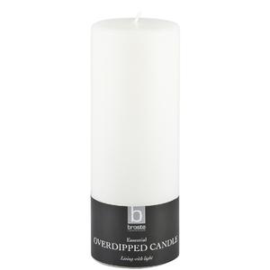 Broste Copenhagen Pillar Candle - White - 7cm x 20 cm