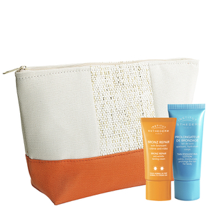 Institut Esthederm Sun Pouch with Mini Bronz Repair Cream & Tan Enhancing Body Lotion Free Gift