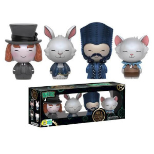 Disney Alice Through the Looking Glass 4-pack Dorbz Vinyl Figure SDCC 2016 Exclusive