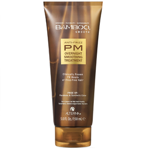 Tratamento Suavizante Bamboo Smooth Anti-Frizz PM Overnight Smoothing da Alterna (150 ml)
