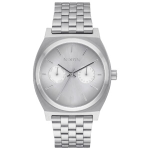 Nixon Time Teller Deluxe Watch - Silver