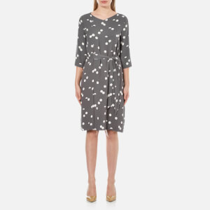 Selected Femme Women's Hallie 3/4 Dress - Smoked Pearl