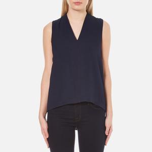 Selected Femme Women's Bina Sleeveless Top - Dark Sapphire