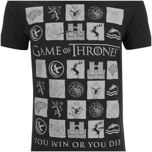 Game of Thrones Men's Win or Die T-Shirt - Black: Image 3