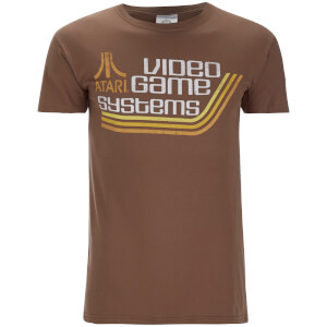 T-Shirt pour Homme - Atari Video Games -Marron