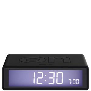 Lexon Flip Clock - Black
