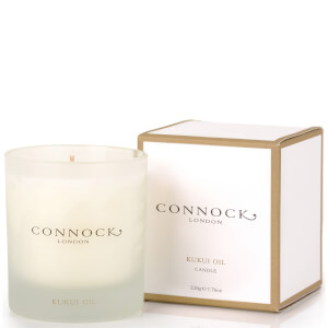 Connock London candela all'olio di kukui 222 g