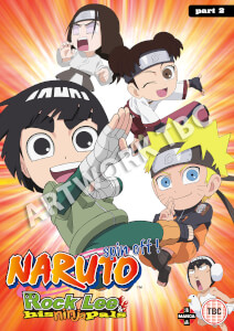 Naruto: Rock Lee and His Ninja Pals Collection 2 (Episodes 27-51)