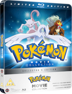 Pokémon : Collection de 3 films - Steelbook d'édition limitée