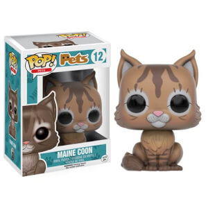 Figurine Pop! Pets Maine Coon