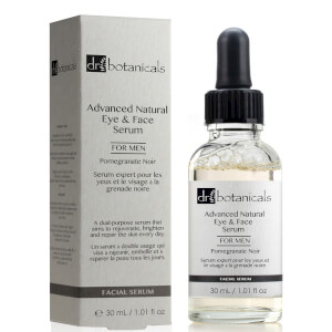 Dr Botanicals Pomegranate Noir Advanced Natural Eye & Face Serum For Men 30 ml