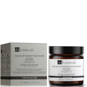 Esfoliante Facial Natural Intenso para Homem da Dr Botanicals 50 ml
