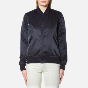 A.P.C. Women's Avengers Bomber Jacket - Dark Navy