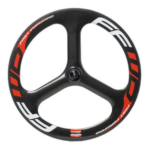 Fast Forward 3 Spoke TT/Tri Tubular Front Wheel - Red