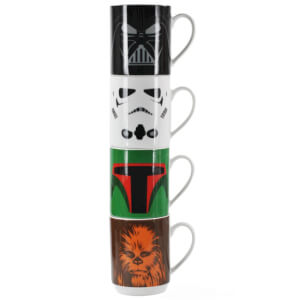 Star Wars Stacking Mugs (Set of 4)