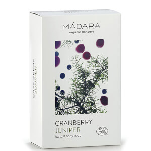MÁDARA Cranberry & Juniper Hand & Body Soap 150g