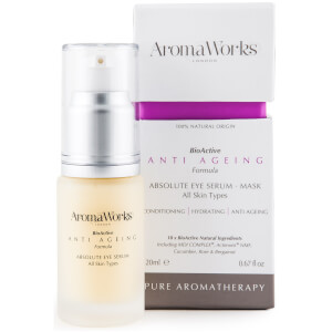 Sérum de ojos absoluto de AromaWorks 20 ml