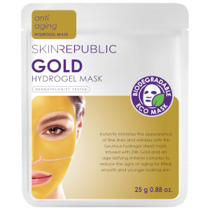 Mascarilla facial Gold Hydrogel de Skin Republic 25 g