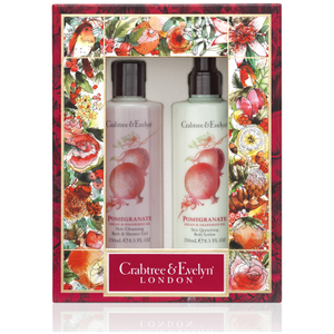 Crabtree & Evelyn Pomegranate Body Care Duo (Worth £31.00)
