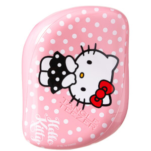 Escova Compact Styler da Tangle Teezer - Hello Kitty Cor-de-rosa