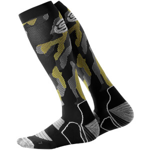Skins Essentials Men's Active Compression Socks - Glitch Camo
