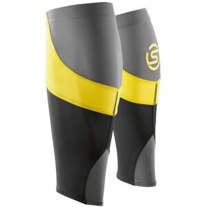 Skins Essentials Unisex Calf Tights MX - Black/Citron