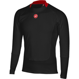 Castelli Prosecco Long Sleeve Base Layer - Black