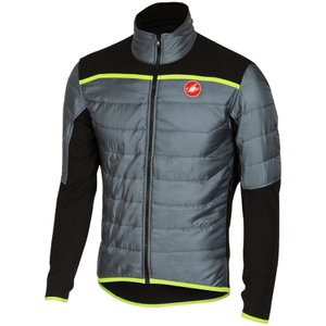 Castelli Cross Prerace Jacket - Grey/Black