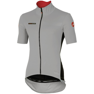 Castelli Perfetto Light Short Sleeve Jersey - Luna Grey