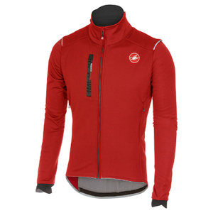 Castelli Espresso 4 Jacket - Red