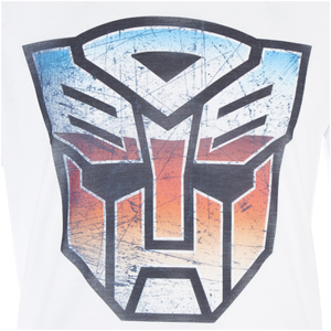 Transformers Men's Transformers Multi Emblem T-Shirt - White: Image 4
