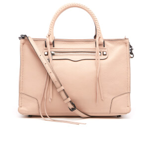 Rebecca Minkoff Women's Regan Satchel Tote Bag - Nude