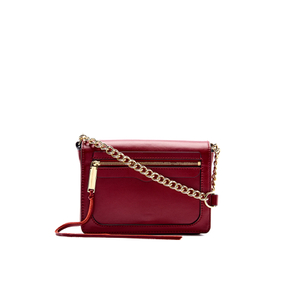 Rebecca Minkoff Women's Avery Flap Cross Body Bag - Deep Red