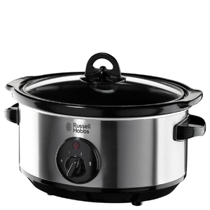 Russell Hobbs 19790 3.5L Home Slow Cooker - Stainless Steel