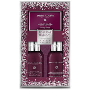Baylis & Harding Midnight Fig & Pomegranate Trio Gift Set