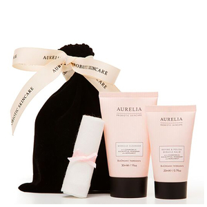 Aurelia Probiotic Skincare The Polish & Cleanse Collection (Worth $32.12)