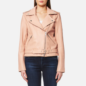 Gestuz Women's Zilla Leather Jacket - Rugby Tan