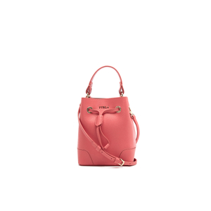 Furla Women's Stacy Mini Drawstring Bucket Bag - Corallo