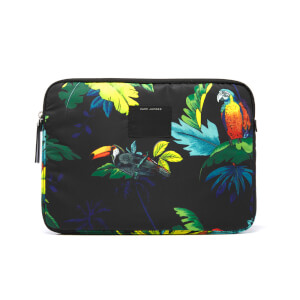 Marc Jacobs Women's B.Y.O.T. Parrot 13 Inch Computer Case - Black Multi